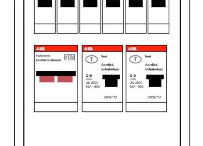 2. Test de aardlekschakelaar(s)